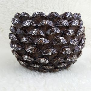 Yankee Candle Pine Cone Jar Candle Holder